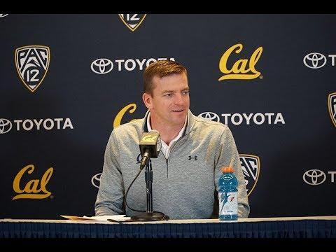 2017-12-20 Justin Wilcox 2018 Early Signing Period Presser