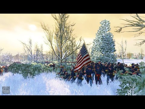 AMAZING 2000 MAN CHARGE -  EMPIRE TOTAL WAR: AMERICAN CIVIL WAR (Brothers vs Brothers)