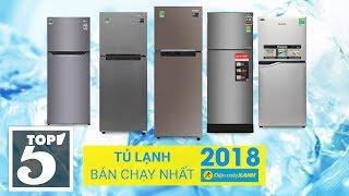Samsung dẫn đầu Top 5 tủ lạnh bán chạy nhất Điện máy Xanh 2018
