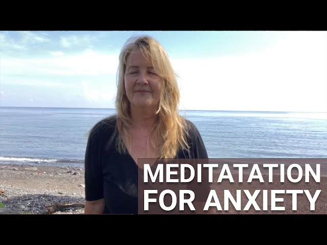 Meditation for Anxiety - Guided Meditation for Grounding Mental Energy
