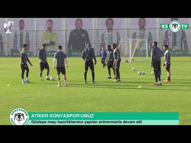 Takımımızda Göztepe maçı hazırlıkları devam ediyor