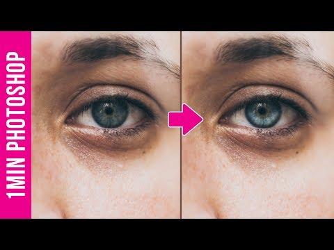 Làm Mắt Sáng Hơn Trong 1 Phút Photoshop | Thùy Uyên