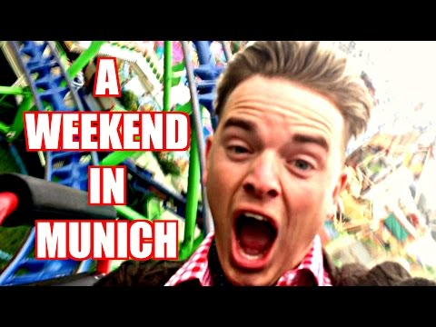 A WEEKEND IN MUNICH | ft. OLI WHITE