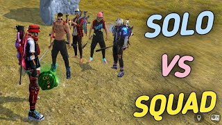 SOLO VS SQUAD || UNBELIEVABLE MOMENT || TRUE FRIENDS 🔥 || AFF ARMY !!!!