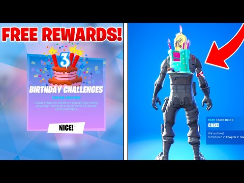 How To Get BIRTHDAY CHALLENGES In Fortnite Battle Royale |  How To Complete!