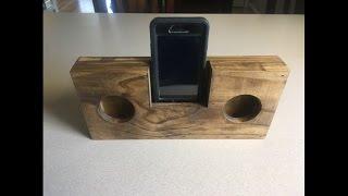 DIY | Wooden Smart Phone Music Amplifier | No Power Needed