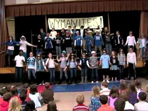 Wyman School 4th grade all school meeting March 2011