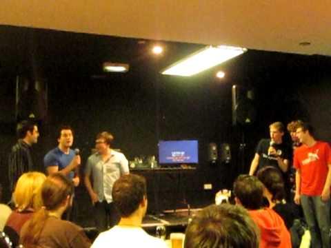 CSS Karaoke - Committee sing Bohemian Rhapsody