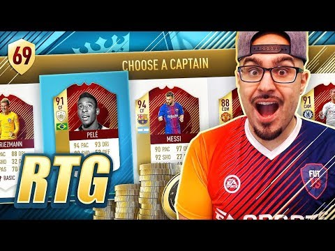 INSANE FUT DRAFT WIN FOR TOTGS PACKS!! FIFA 18 Ultimate Team Road To Fut Champions #69 RTG