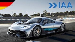 Mercedes-AMG Project ONE und alle Neuheiten der IAA. Ein Video, alle Infos!