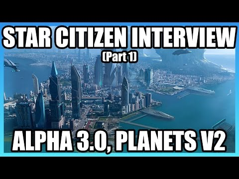 Chris Roberts on CitizenCon, Procedural Planets V2, Alpha 3