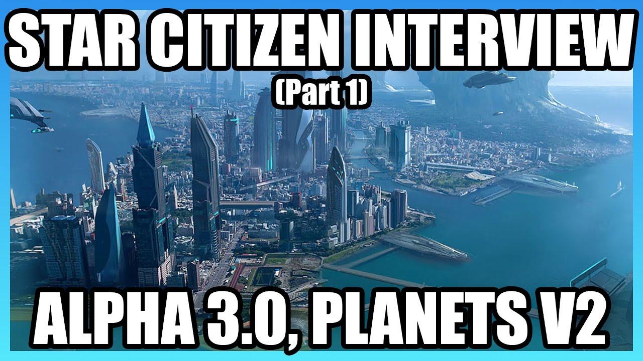 Chris Roberts on CitizenCon, Procedural Planets V2, Alpha 3