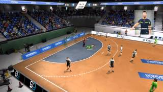 IHF Handball Challenge 2014 - GAMEPLAY #3 (Let