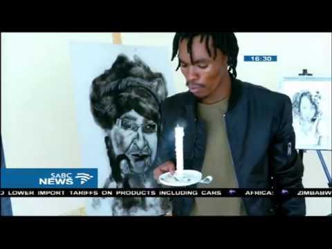 Soweto artist pays tribute to Madikizela-Mandela