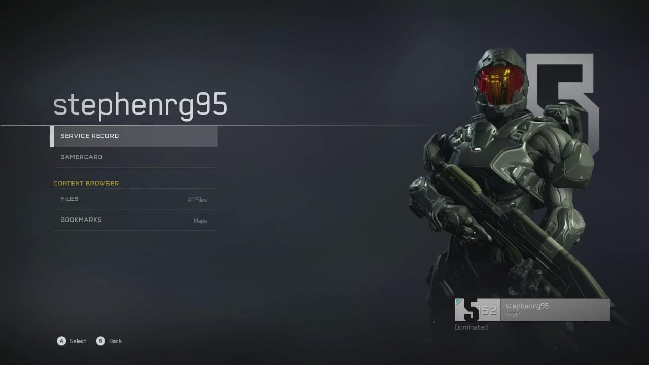 Halo 5 - Achieving Max Rank 152