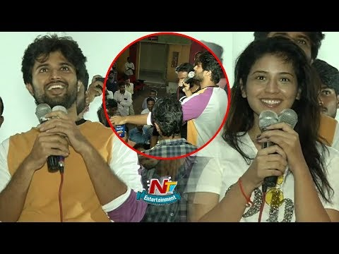 Taxiwala Team Hungama At Arjun Theater |...