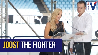 Amor: Joost fought till end for his children