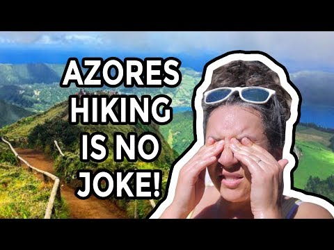 Hiking in the Azores is no joke...