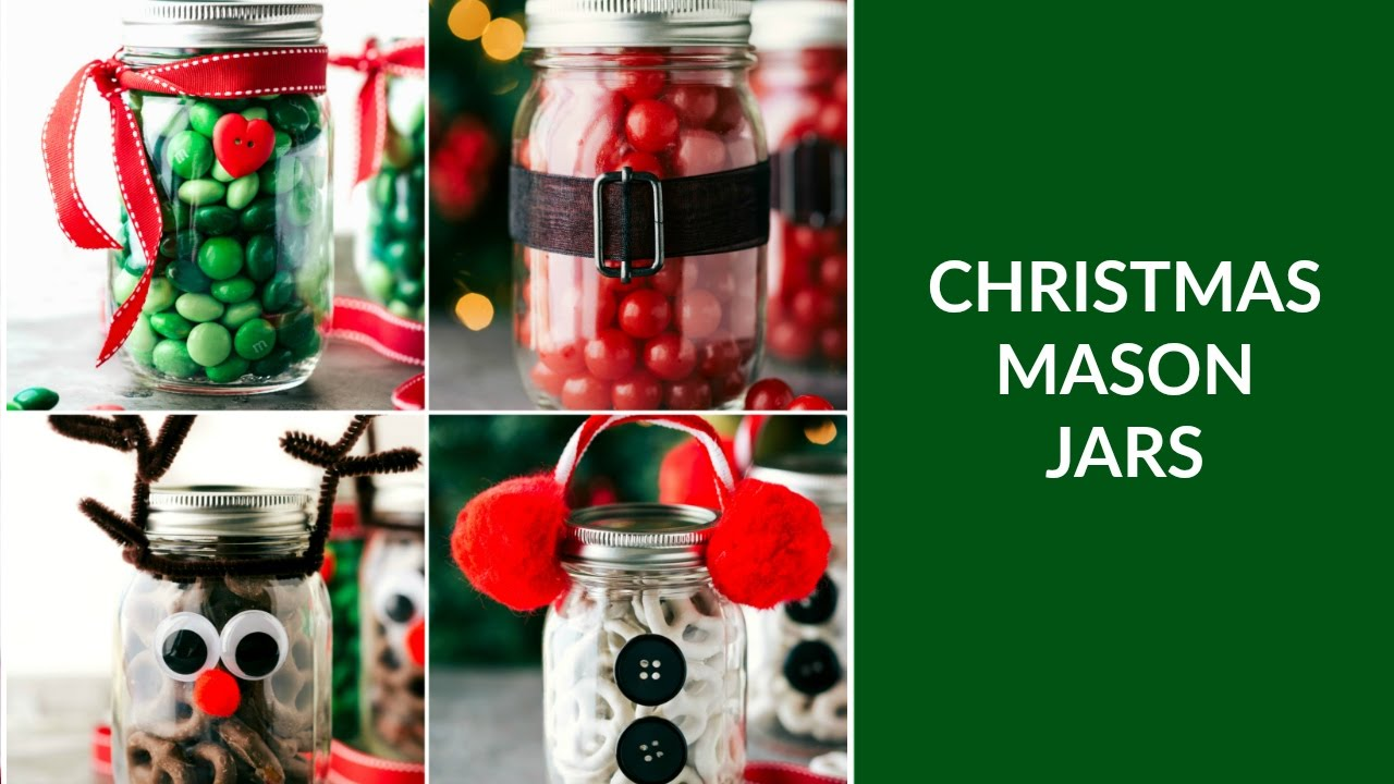 Mason Jar Christmas Gifts - YouTube