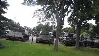 Оружие: танки, артилерия, бмп. Музей Великой Отечественной войны 1941-1945, Киев, Украина