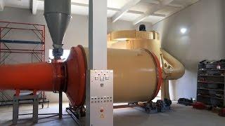Линия гранулирования 1 тонна в час. часть 1. Сушка АВМ 0,65. Гранулятор ОГМ-1,5