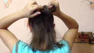 Лёгкие причёски на короткие волосы))на каждый день(Привет, надеюсь вам понравилось моё новое видео, вы поставили этому видео пальчик вверх и подписались, чтоб..., 2015-09-12T21:12:24.000Z)