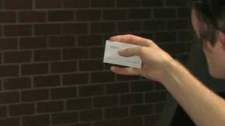 Make a Business Card Disappear