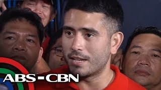 WATCH: Gerald Anderson airs support for ABS-CBN franchise renewal | TV Patrol