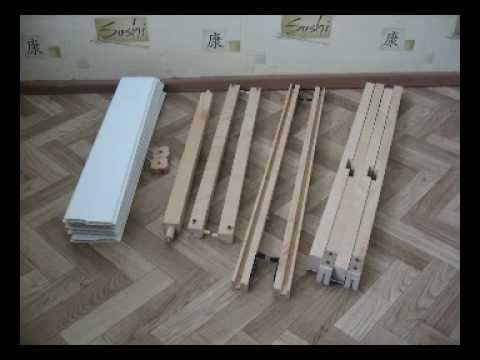 Деревянный складной столик своими руками