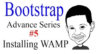Advance Bootstrap Tutorial With PHP #5: Installing WAMP for WINDOWS to use PHP