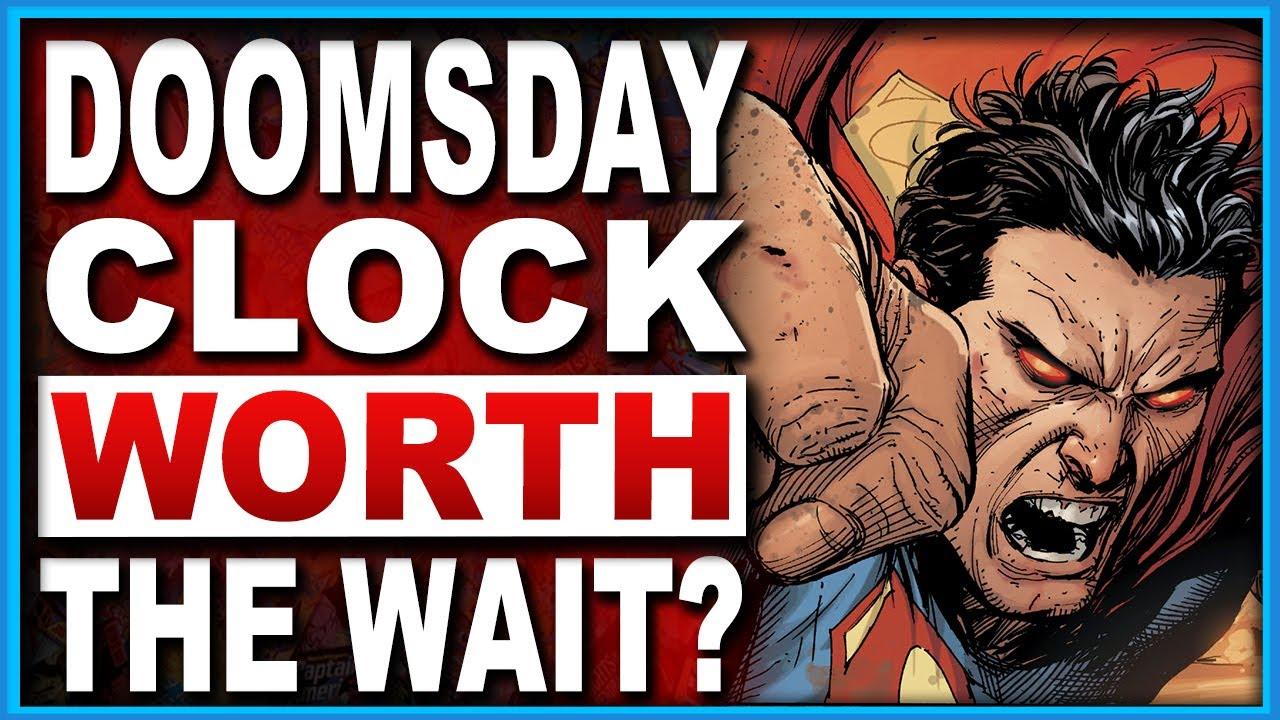 doomsday clock comic series