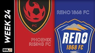 phoenix rising fc vs. reno 1868 fc: august 16th, 2019