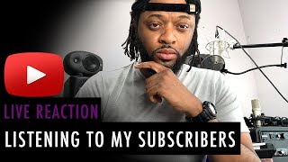 Listening To My Subscribers Music and Soundcloud Part 3 | Music Monday's