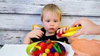 Тортик из желе с фруктами Learning Recources