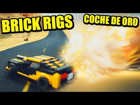COCHE TORPEDO, IMPACTOS A 1000 Km/h, SALGO DEL PLANETA - BRICK RIGS - ONLINE| Gameplay Español