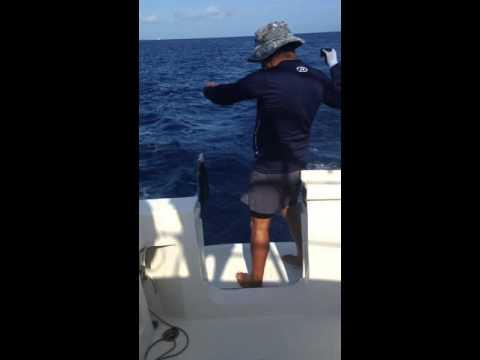 Deep sea fishing in Cuba