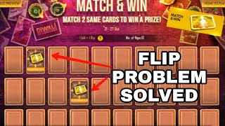 Flipping Problem Solved - Match and Win Diwali Event || New Event FREE FIRE