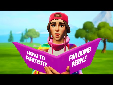learning how to play fortnite THEN we ran into SOME YOUTUBERS…
