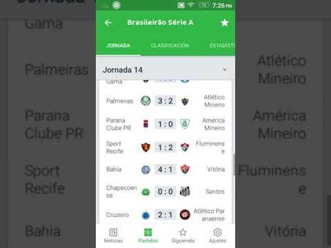 Resultados Y Tabla De Posiciones Fecha 14 Brasileirao 2018