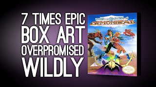 7 Times Epic Box Art Overpromised Wildly