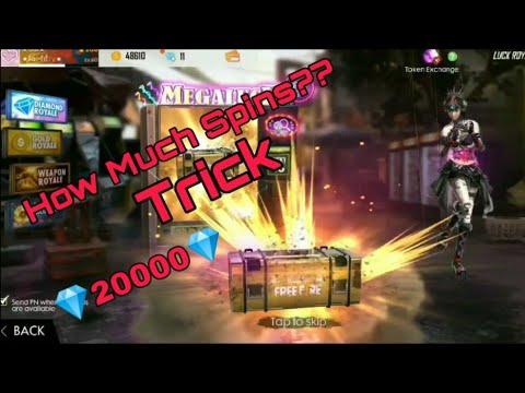 💎New Diamond Royal Unlock Free Fire Batt 2019 How much spin it takes?