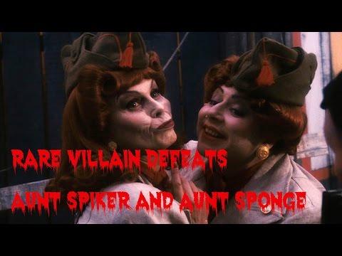 Rare Villain Defeats: Aunt Spiker and Aunt Sponge