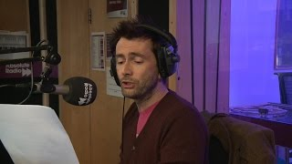 David Tennant reads the traffic & travel news