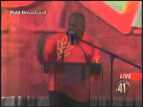 PNM Youth Rally 2010 Mr Manning's Speech (Full)