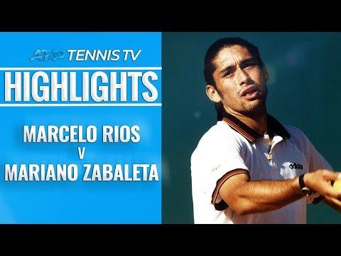 Rios beats Zabaleta in Five-Set Epic | Hamburg Final 1999 EXTENDED HIGHLIGHTS