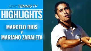 Rios beats Zabaleta in Five-Set Epic | Hamburg Final 1999 EXTENDED HIGHLIGHTS