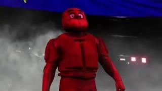 WWE2K20. SLENDERMAN V FREDDY FAZ