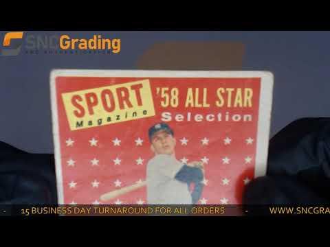 SNC Grading: 1958