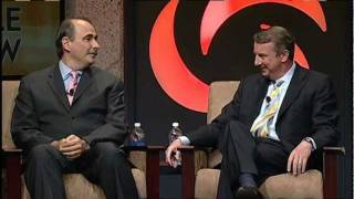 Snippet from The Cable Show 2011 Election Outlook Panel featuring David Axelrod and Ed Gillespie