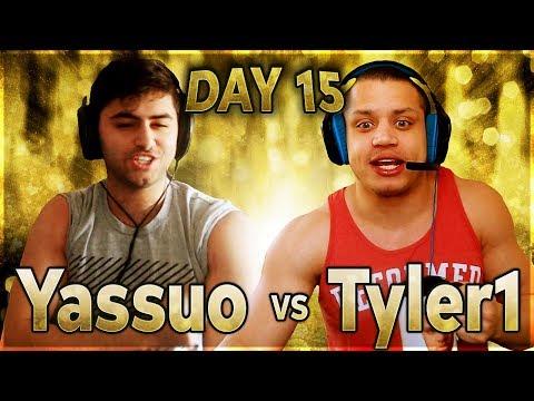 Tyler1 Shares High Elo Trick | YASSUO VS TYLER1 - $10K BET: DAY 15